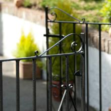 Hammerite open fence